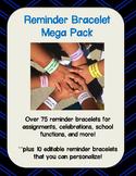 Reminder Bracelet Mega Pack