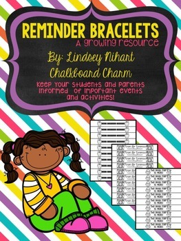 Reminder Bracelets: A Growing Resource