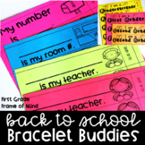 Reminder Bracelets Back to School & More