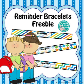 Reminder Bracelets Freebie