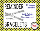 Reminder Bracelets Print & Go