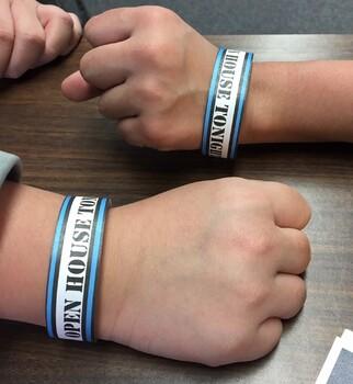 Reminder Bracelets *With cool designs that even appeal to older kids!*