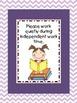 Reminder Cards - Classroom Discipline Plan