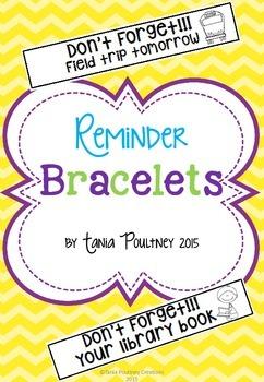 Reminder Notes: Bracelets