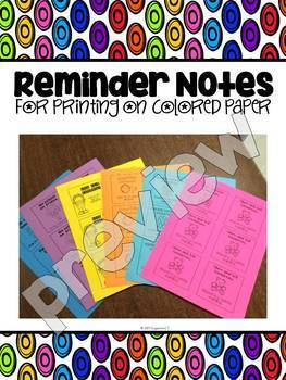 Back to School Parent Communication: Reminders in English and Spanish