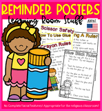 Reminder Posters: Learning Room Stuff