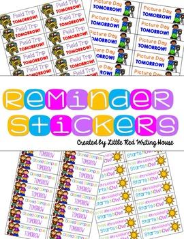 Reminder Stickers