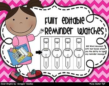 Reminder Wristband Watches