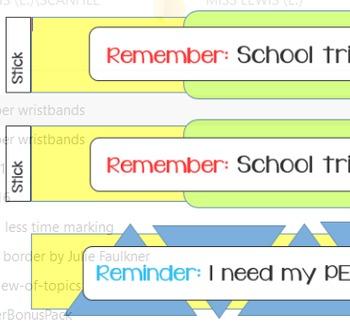 Reminder Wristbands