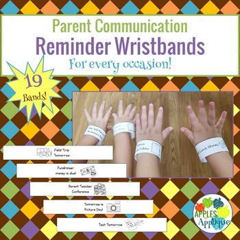 Reminder Wristbands for Every Occasion