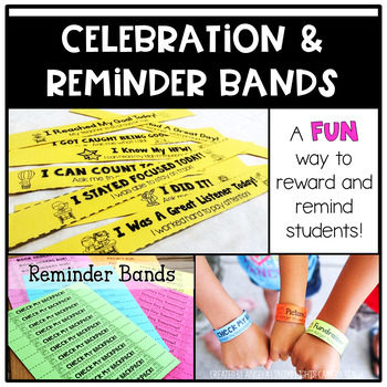 Reminder and Celebration Bands: A Growing Resource with FREE updates for LIFE!