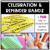 You've Been Banned: Reminder and Celebration Bands {EDITABLE}