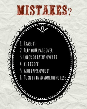Reminders- In case of a mistake!