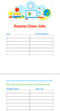 Remote Class Jobs (Google Doc.)