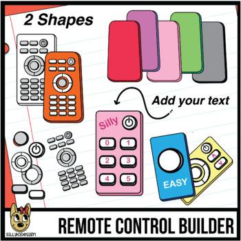 Remote Control Clip Art: Build Your Remote! #JulyTptClipLove