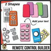 Remote Control Clip Art: Build Your Remote!