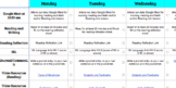 Remote Learning Plan Sample (4th Grade)