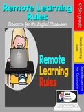 Remote Learning Rules for Distance Learners