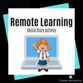 Remote Learning - Social Story Activity for Special Education