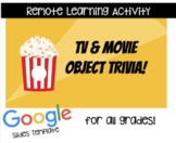 Remote Learning TV/Movie Trivia Games (Growing Bundle)