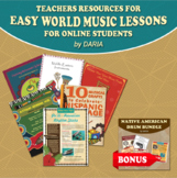 Remote Learning - Teachers Resource Bundle For Easy World
