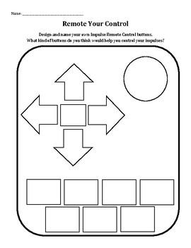Self Control Worksheets For Kindergarten