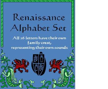 Renaissance Alphabet Set