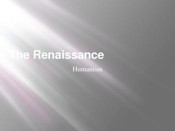 Renaissance Art Humanism PowerPoint