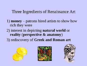 Renaissance Art - Major Renaissance Figures PowerPoint