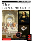 Art History - The Renaissance (Montessori 3 Part Cards)
