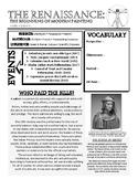 Renaissance Art Student Handout - Art History