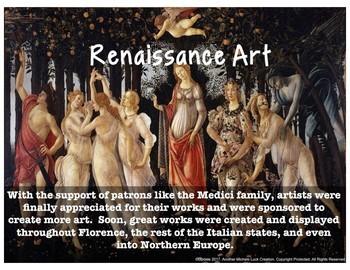 Renaissance Art Virtual Tour Analysis Activity