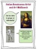 Renaissance Artist and Art WebSearch