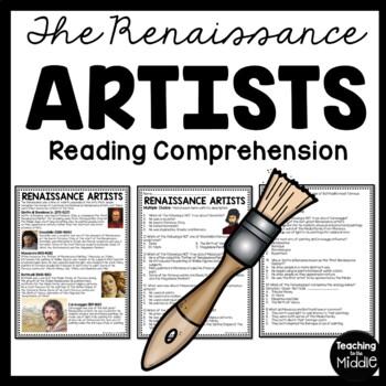 Renaissance Artists, Donatello, Masaccio, Botticelli, Cara