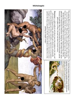 Renaissance Artists Trading Card Activity