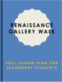 Renaissance Artwork: Complete Lesson Plan