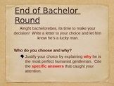 Renaissance Bachelor/Bachelorette activity