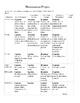 Renaissance Biography Project worksheet
