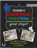 Renaissance Board Game Project NO PREP!
