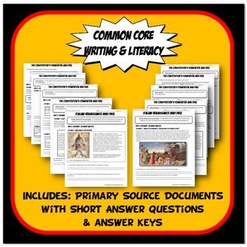 DBQ Renaissance - Common Core Document Based Question Activity