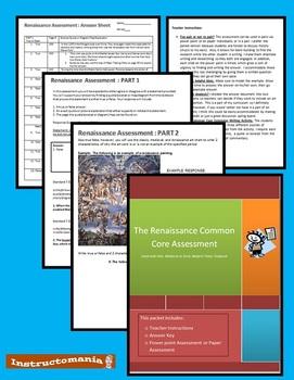 Renaissance Common Core Assessment HOLT Textbook
