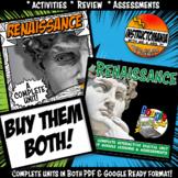Renaissance Complete Unit & Google Ready Combined History Activity Bundle