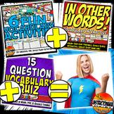 Renaissance Complete Vocabulary Mini-Bundle, Activities, Games, & Quiz