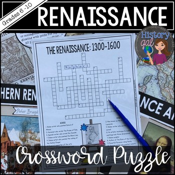 Renaissance Crossword Puzzle