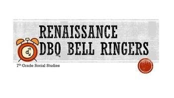 Renaissance DBQ Bell Ringers