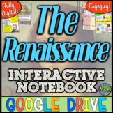 Renaissance DIGITAL Interactive Notebook!  Google Drive | Distance Learning