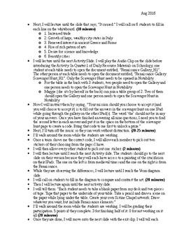 Renaissance Day 1 Lesson Plan