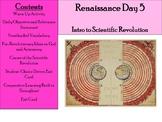 Renaissance Day 5 - Intro to the Scientific Revolution