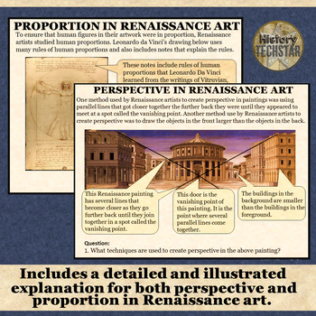 Renaissance Art: Perspective and Proportion Assignment