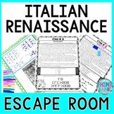 Renaissance ESCAPE ROOM: da Vinci, Michelangelo, Raphael - Print & Go!